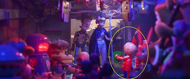 Tinny in Toy Story 4 Easter egg