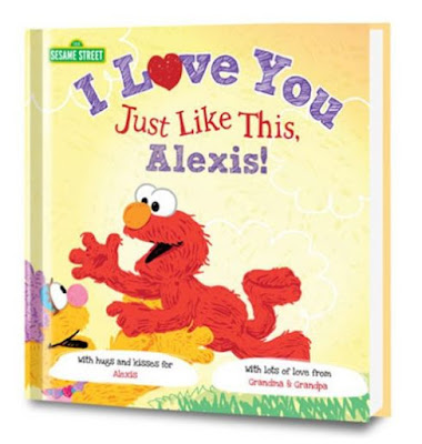 personalized books, Sesame Street, Put me in the Story, personalized gifts, children's books