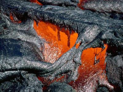 Lavas do vulcão Kilauea