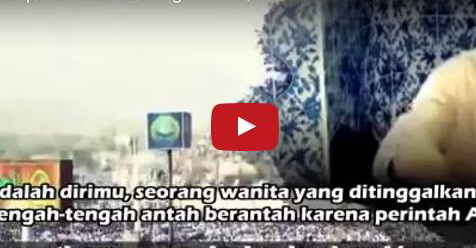 """Inilah Video """"Makkah Tercipta Karena Seorang Wanita"""" Yang Membuat Ustad Yusuf Mansur Menangis"""