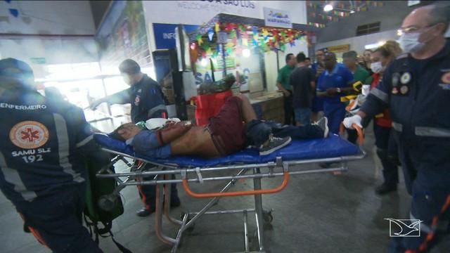 Assalto termina com duas pessoas baleadas no Aeroporto de São Luís
