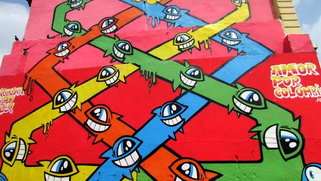 """Amor Por Colombia"" New Urban Art Mural For Street Kills Festival In Santiago De Cali, Colombia. 2"