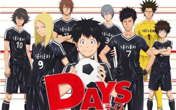 Days - Daftar Anime Sport terbaik Sepanjang Masa