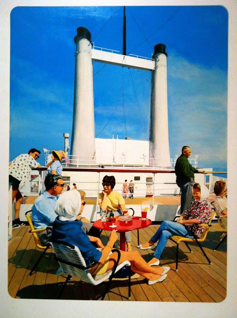 On Deck, Malcolm Morley, 1966