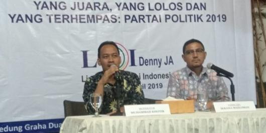 LSI Denny JA: PKS, NasDem, PAN, PPP, dan Perindo Masih Rawan Lolos ke DPR