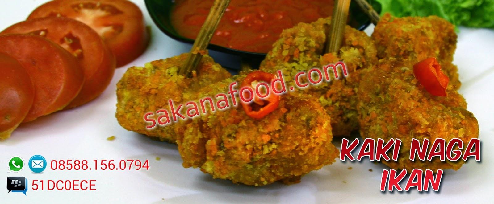 Resep Kaki Naga Ikan Sakana