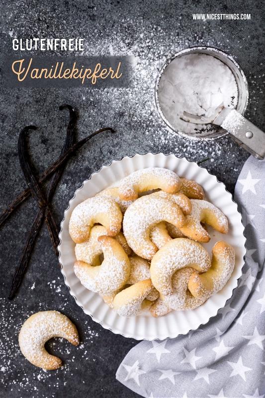 Glutenfreie Vanillekipferl Rezept