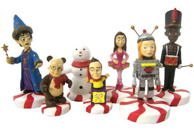 Community Christmas Figurine Set by NBC