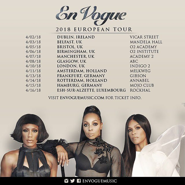 EN \'VOGUE | EUROPEAN TOUR - 2018 | X URBAN MUSIC MAG