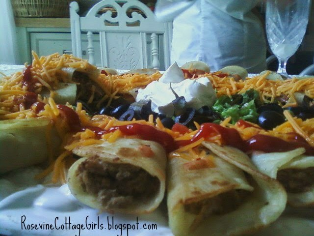Beef Taquito Recipe by Rosevine Cottage Girls