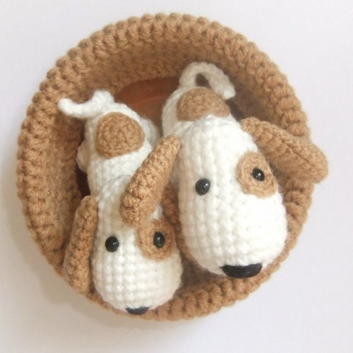 Crochet Toy Little Dog - Free Pattern