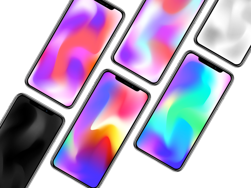 Free Download Vivid Wallpaper For IPhone X