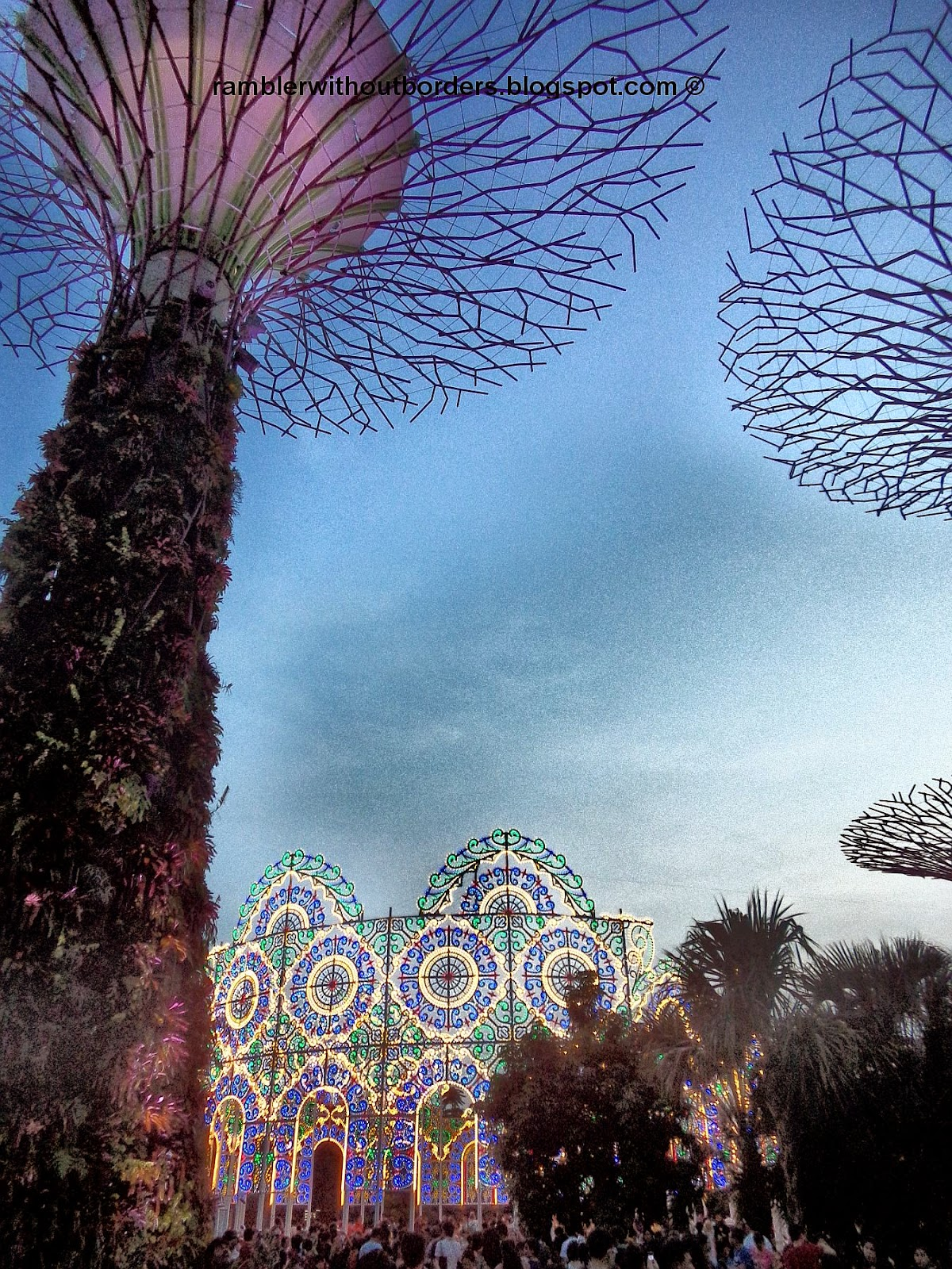 Christmas installation/displays, Gardens by the Bay, Singapore