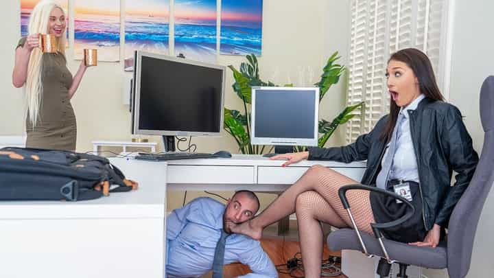 Bella Rolland in Turning Her Off And On Again - Reality Kings