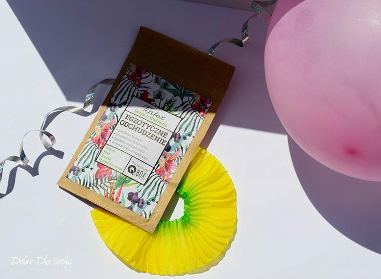 Q BOX Herbata Teatox Detox&Slimming