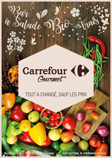 catalogue Carrefour Gourmet avril mai 2017