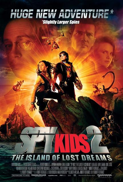 Bosbioskop Spy Kids 2 Island Of Lost Dreams (2002)