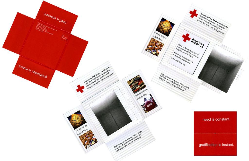 In nhanh Brochure đẹp tại xưởng Hà Nội, thiết kế Brochure độc đáo chuyên nghiệp American Red Cross