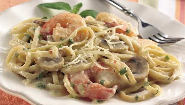 Seafood Linguine #dinner #pasta
