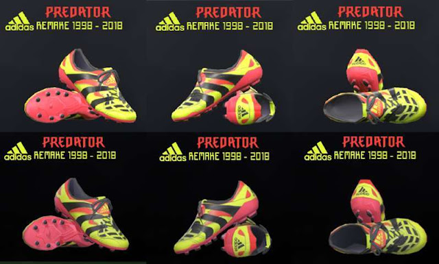 Electricity Adidas Predator Accelerator Remake Boots PES 2017