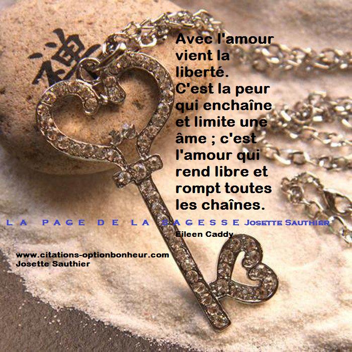 Citations option bonheur: Citation sur l'amour et la liberté (Eileen ...