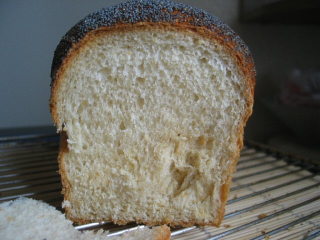 Poppy Seed Spelt Loaf With Old Dough