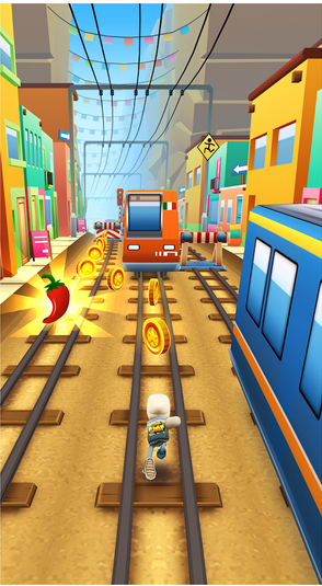 لعبة القطار Subway surfer