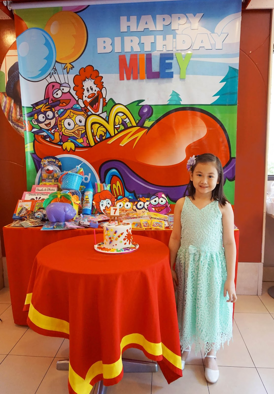 MrsMommyHolic: A 7th Birthday Party in McDonald\'s