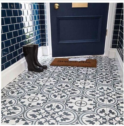 Modern blue bathroom catalog decor ideas tiles - Blue bathroom tile ideas ...