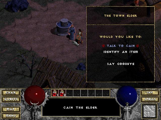 Diablo 1 Blizzard Captura de pantalla 4