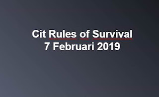 Link Download File Cheats Rules of Survival 7 Feb 2019