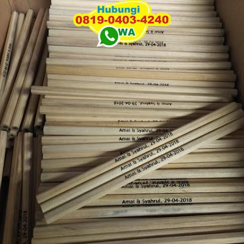 souvenir kotak pensil songket 53759