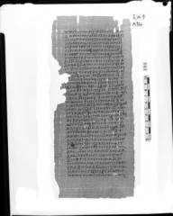 Papyrus Nag Hammadi Codex I Treatise on Resurrection