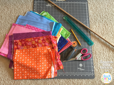 DIY Teacher Hack: How to create cute, custom, no-sew curtains for your classroom. Add a colorful touch to any room using scrap material, ribbons, or lace. Don't miss this tutorial.