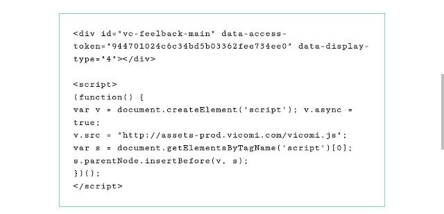 Copy Vicomi javascript code
