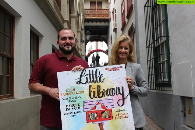Santa Cruz de La Palma se une a la iniciativa internacional 'Little Library' para fomentar la lectura en todos los rincones del municipio