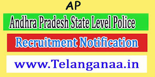 Andhra Pradesh State Level Police Recruitment Notification-AP Police 2016 Jobs Apply