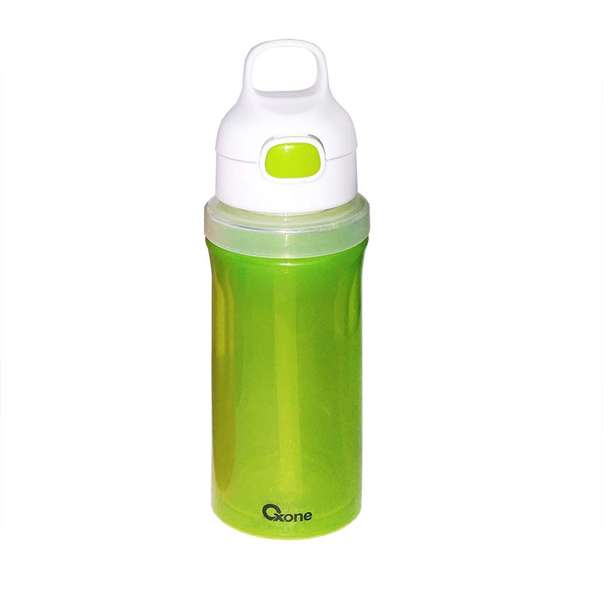 OX-300 Botol Minum Oxone Rainbow Twist & Turn Bottle 300ml - Hijau