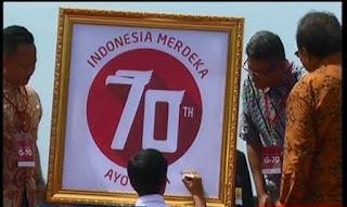 Logo dan Tema HUT RI ke-70