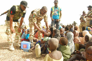 Photos Of 998 Persons Soldiers Rescued From Boko Haram Captivity 2
