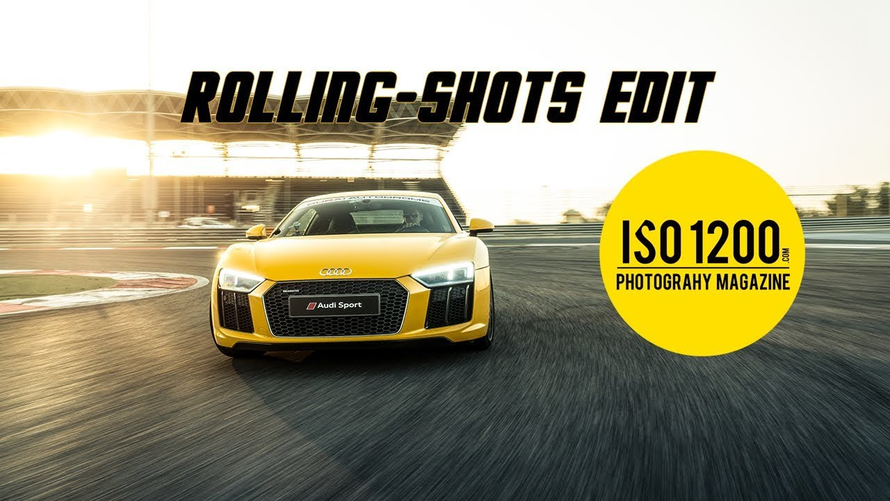 Car Photography: Editing Car Rolling Shots in Photoshop