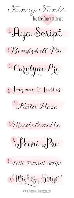 Best Tattoo Fonts Ideas
