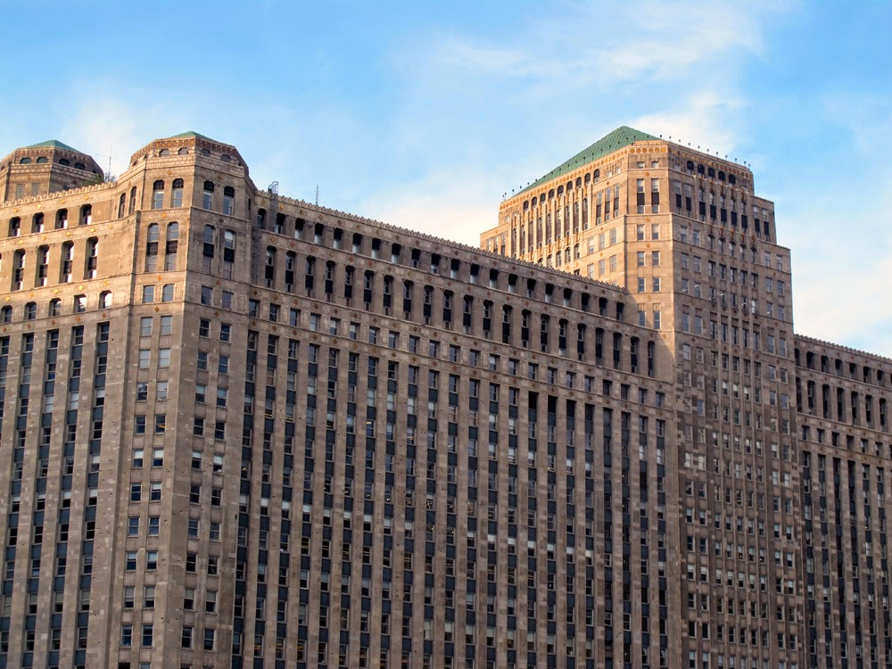The Chicago Merchandise Mart - iconic architecture