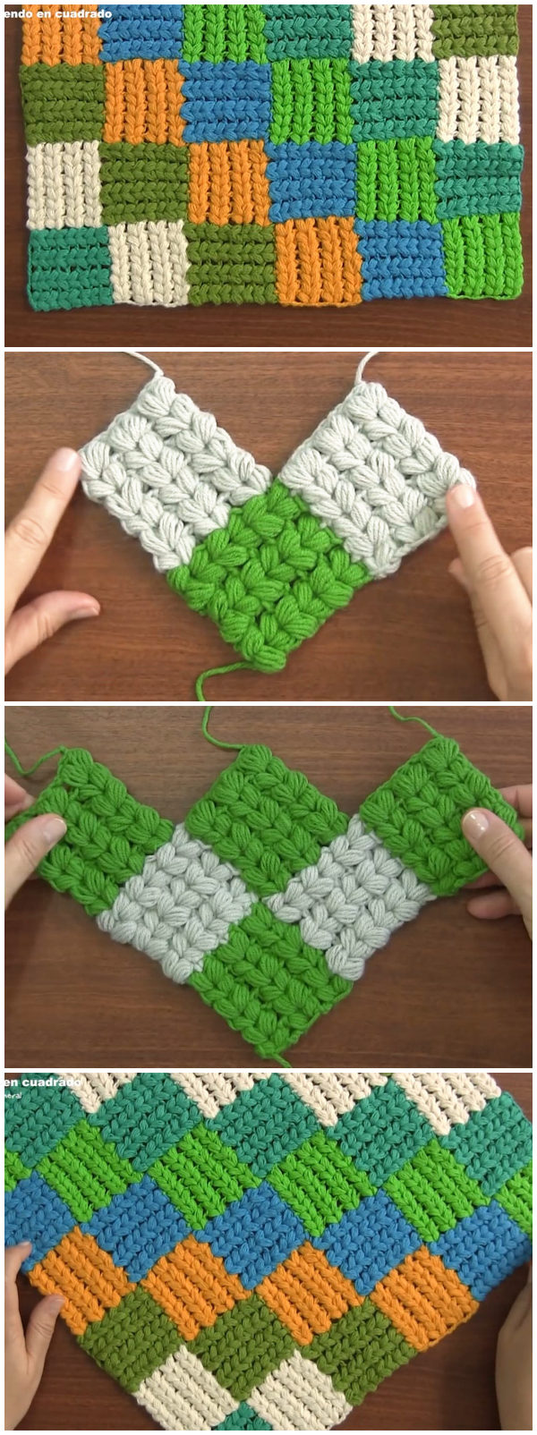 Interlaced Braid Stitch Crochet Pattern