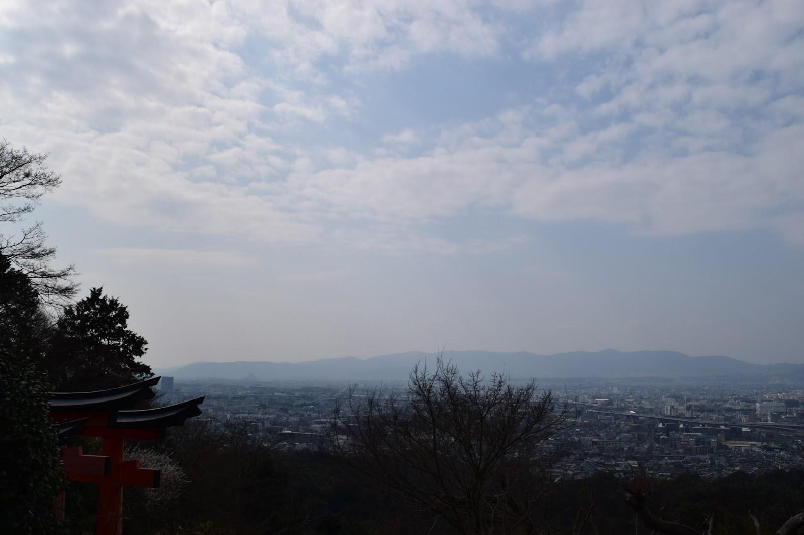 Inari Yama Kyoto view