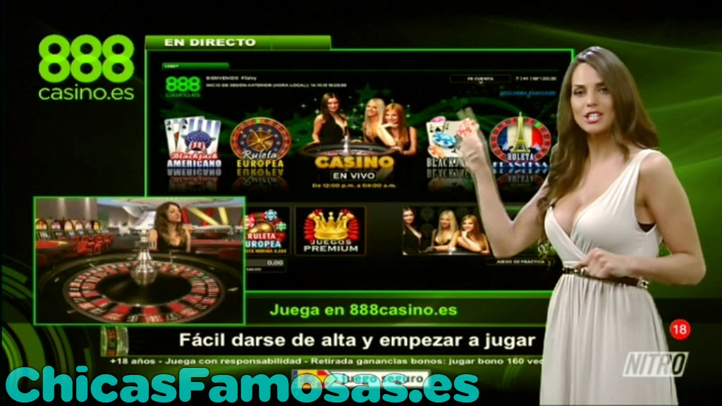 Presentadora De 888 Casino.Es