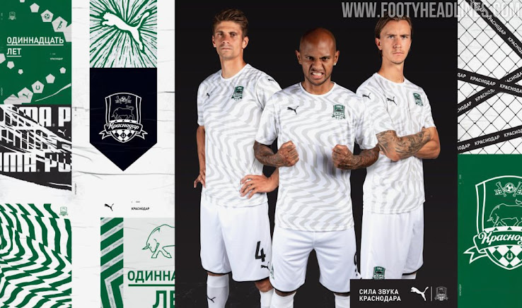Puma Fc Krasnodar 19 20 Home Away Kits Released One Outstanding One Very Boring Footy Headlines
