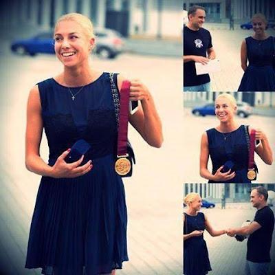 Наталія Годунко продала на аукціоні медаль, щоб допомогти армії