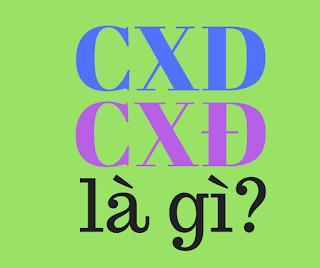 cxd là gì