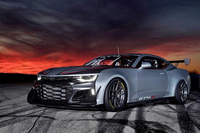 Chevrolet Camaro GT4.R American Racing Beast